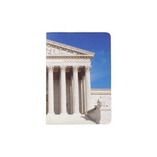US Supreme Court building, Washington DC, USA Passport Holder