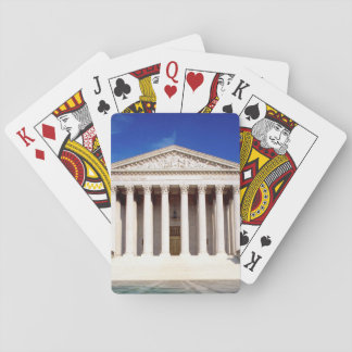 US Supreme Court building, Washington DC, USA Playing Cards