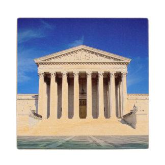 US Supreme Court building, Washington DC, USA Wood Coaster