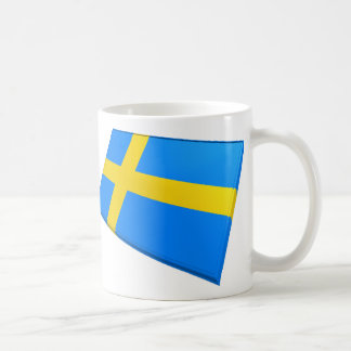 US & Sweden Flags Coffee Mug