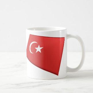 US Turkey Flags Coffee Mug