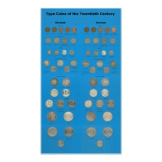 US Type Coins Poster