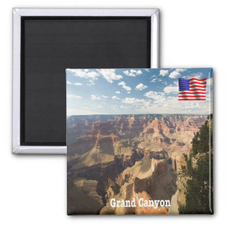 US - U.S.A. - Arizona - Gran Canyon - Panorama Magnet