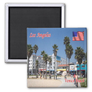 US U.S.A. - Los Angeles - Venice Beach Magnet