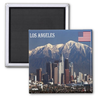 US - United States of America Los Angeles Panorama Magnet