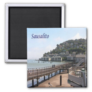 US - United States of America - Sausalito Magnet