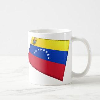 US & Venezuela Flags Coffee Mug