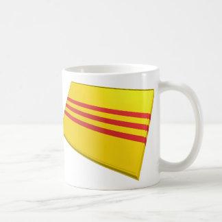 US & Vietnam Flags (South Vietnam) Coffee Mug