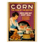 US Vintage Corn Postcard
