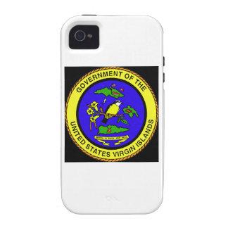 US Virgin Islands Emblem Case-Mate iPhone 4 Cases