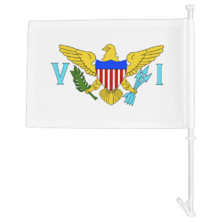 US Virgin Islands flag Car Flag