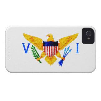 US VIRGIN ISLANDS FLAG iPhone 4 Case-Mate CASE