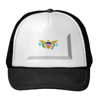 US VIrgin Islands Flag Jewel Cap