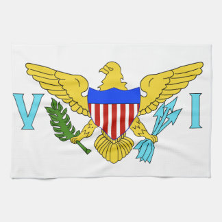 US Virgin Islands flag Towel