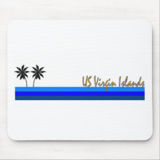 US Virgin Islands Mouse Pads