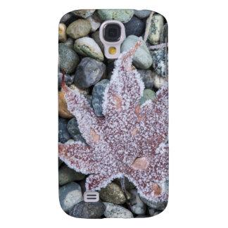 Us, Wa, Bainbridge Island. Early Morning Frost 2 Galaxy S4 Case