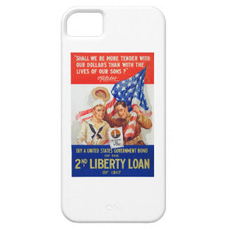 US War Bonds 2nd Liberty Loan 1917 WWI Propaganda Case For The iPhone 5