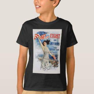 US War Bonds Fight Buy Third Liberty Loan WWI T-Shirt