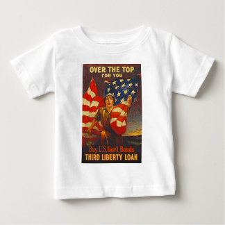 US War Bonds Third Liberty Loan WWI Propaganda T Shirt