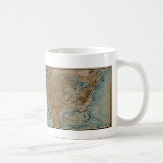 US Weather Map Coffee Mug