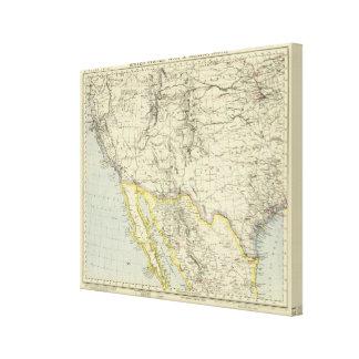 US West, Mexico North Canvas Print