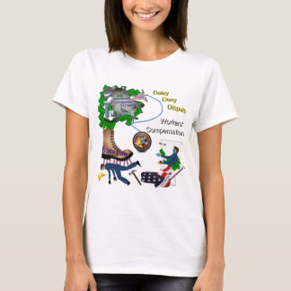 US Workers Compensation 3-D Game Lady Tee