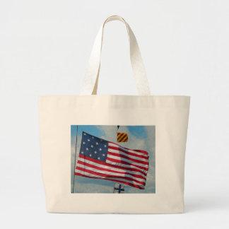 USA 15 Star Flag Bag