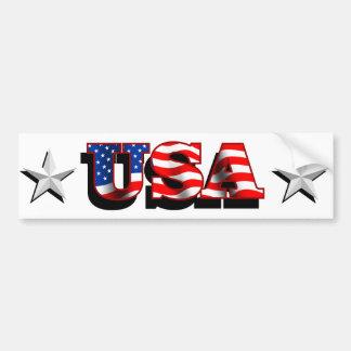 USA 1 with Stars Bumper Sticker