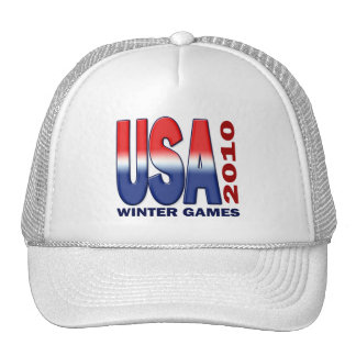 USA 2010 WINTER GAMES MESH HAT