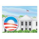 USA 2012 Election Logo Postcard