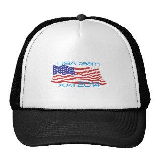 USA 2014 Winter Sports Trucker Hat