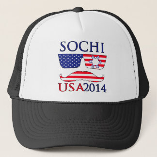 USA 2014 winter Trucker Hat