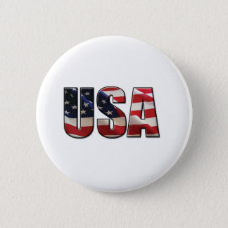 USA 6 CM ROUND BADGE