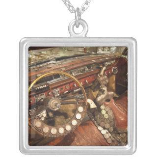 USA, Alabama, Tuscumbia. Alabama Music Hall of 2 Silver Plated Necklace