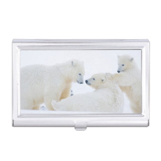 USA, Alaska, 1002 Coastal Plain of the Arctic Business Card Holder