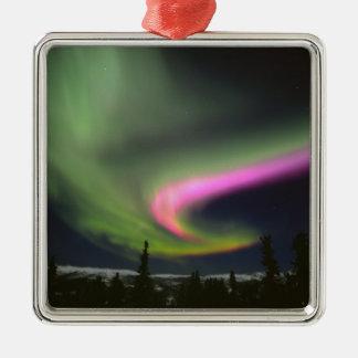 USA, Alaska, Chena Hot Springs. Aurora 2 Christmas Ornament