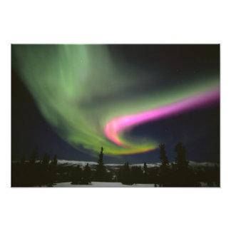 USA, Alaska, Chena Hot Springs. Aurora 2 Photo Print