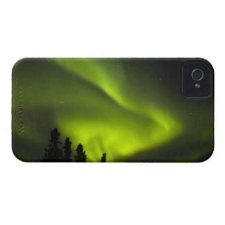 USA, Alaska, Chena Hot Springs. Aurora Borealis 2 iPhone 4 Case