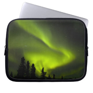 USA, Alaska, Chena Hot Springs. Aurora Borealis 2 Laptop Sleeve