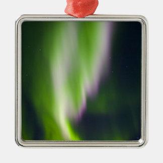 USA, Alaska, Chena Hot Springs. Aurora Borealis Christmas Ornament