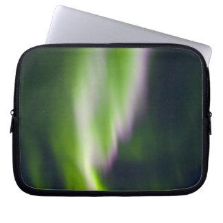 USA, Alaska, Chena Hot Springs. Aurora Borealis Laptop Sleeve
