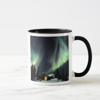 USA, Alaska, Chena Hot Springs. Aurora Mug