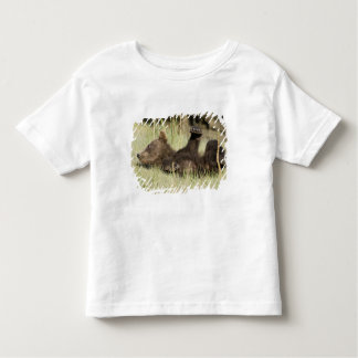 USA. Alaska. Coastal Brown Bear cub at Silver Toddler T-Shirt