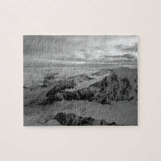 USA, Alaska, Denali National Park, Aerial view 2 Jigsaw Puzzle