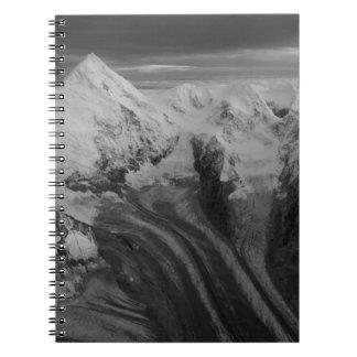 USA, Alaska, Denali National Park, Aerial view 3 Notebook
