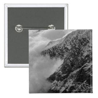 USA, Alaska, Denali National Park, Aerial view 4 15 Cm Square Badge
