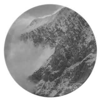 USA, Alaska, Denali National Park, Aerial view 4 Plate