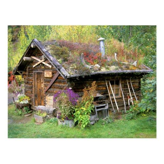 USA, Alaska, Denali National Park, Kantishna. Postcard