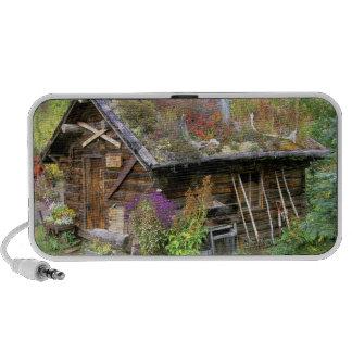 USA, Alaska, Denali National Park, Kantishna. iPhone Speaker