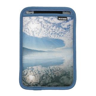 USA, Alaska, Freshwater Bay. Clouds Reflected iPad Mini Sleeve